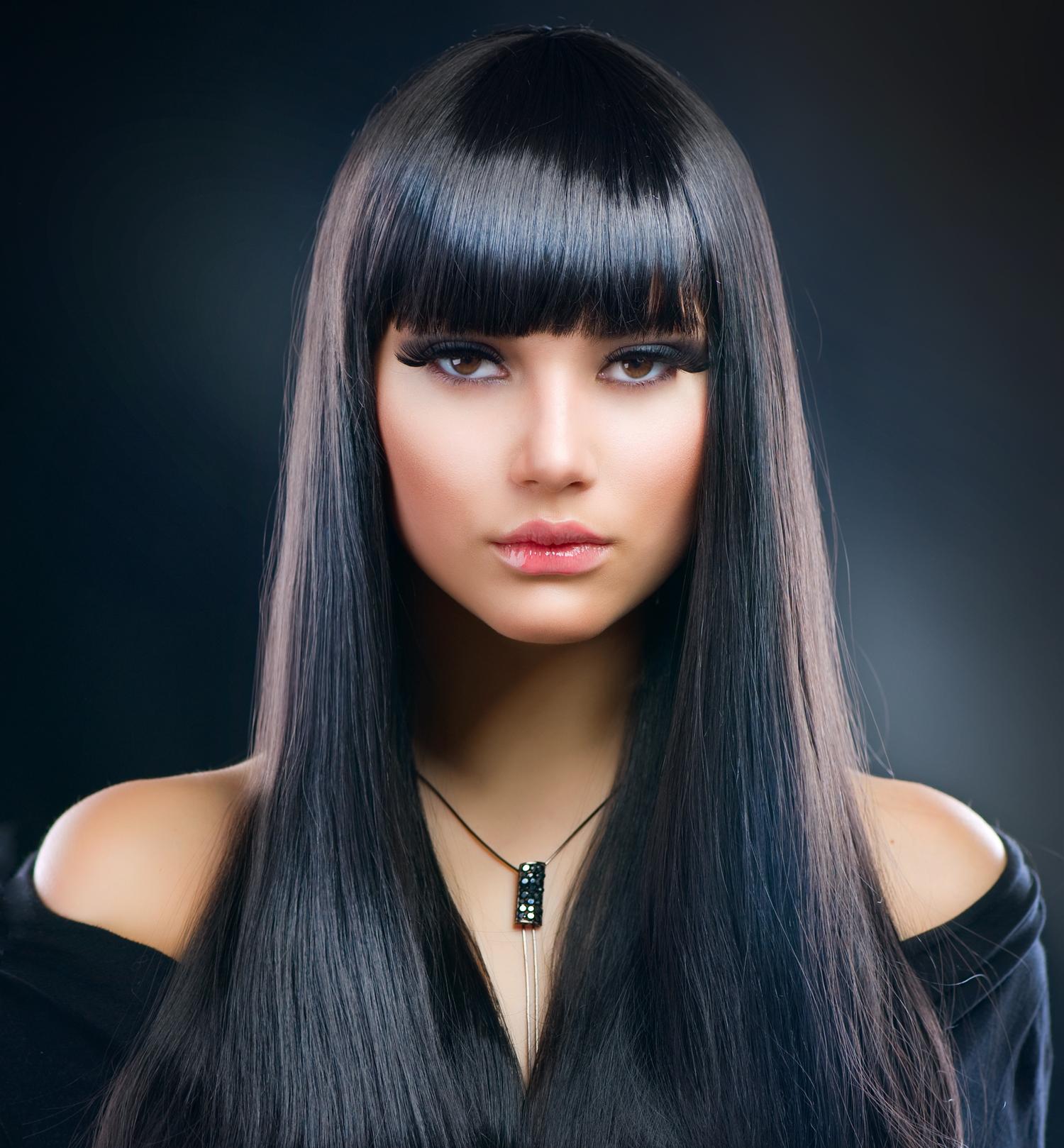 beautiful brunette girl healthy long hair  nowra players